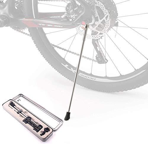 Corki Bike Kickstand Stainless Steel Bike Stand/Quick Release Bike Kickstand /Portable Bike Stand for Road&Mountain Bike