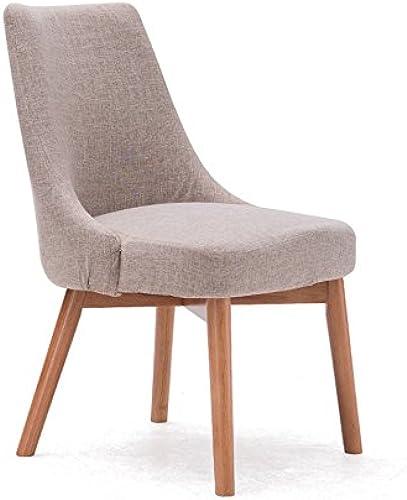 Hocker Loungesessel, Holz Konferenzstuhl Esszimmerstuhl Kreativer Stuhl Moderner Stil 46,5  49  83cm Langlebig und sicher zu bedienen (Größe   46.5  49  83cm)
