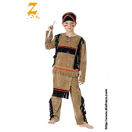 Fyasa 706082-t01 Disfraz de indio, Tamaño infantil