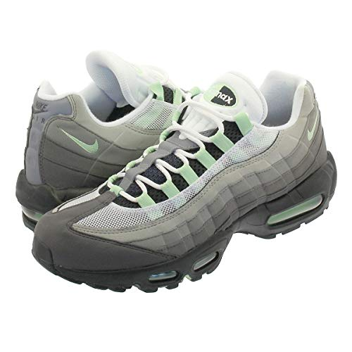 [ナイキ] AIR MAX 95 WHITE/FRESH MINT/GRANITE/DUSTUS10-28.0cm [並行輸入品]