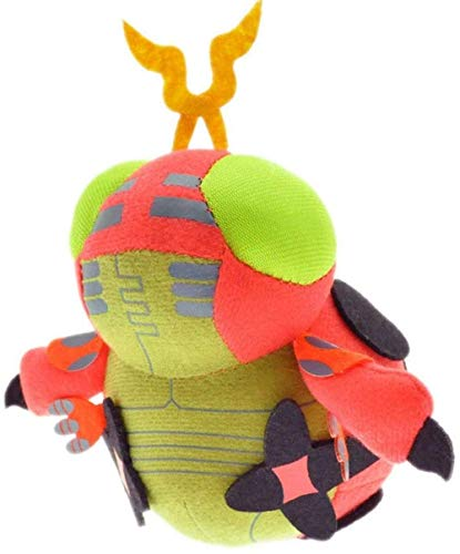 NC88 12cm Tentomon Plush Digimon Animals Cartoon Doll Soft Stuffed Anime Puppet Children Birthday Children Gift