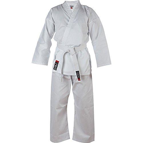 Niños de kárate ligero blanco de Karate Blitz Sport, Infantil, color Blanco - blanco, tamaño 140 cm