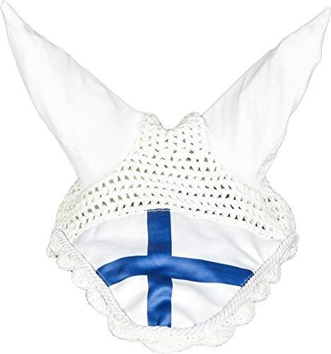 HKM Vliegenkap Flags, Warmblut, Vlag Finland