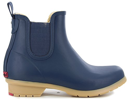 Bainbridge Fleece Lined Chelsea Bootie, Navy, 7 M US