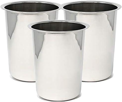 Winco BAM-1.25 Bain Maries, 1.25-Quart,Stainless Steel,Medium