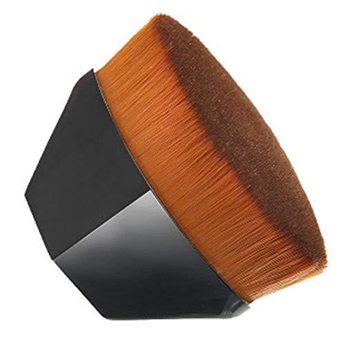 Pinceau fond de teint liquide brosse maquillage brosse avec Synthetic Dense Soies, pour le mélange liquide, crème, Correcteur Premium, facile à transporter