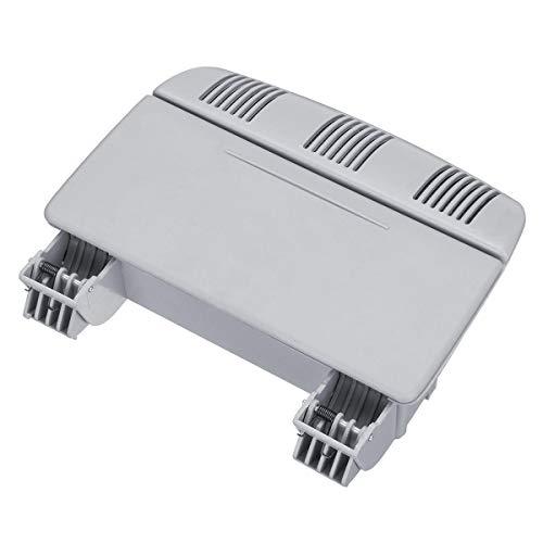 DFYYQ Caja de cánculos de la Caja de Las Gafas de la Caja Caja de Almacenamiento de plástico para Skoda para Fabia para Octavia para Roomster (Color : Grey)
