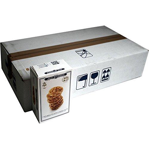 Jules Destrooper Lace Biscuits with Cashew Nuts 14 x 75g Packung (Keks mit Cashewnüssen)