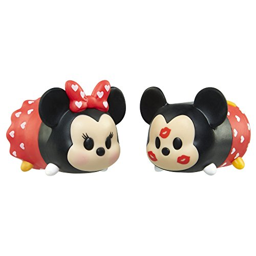 Tsum Tsum Valentine's Day Mickey and Minnie Tsweeties Gift Set