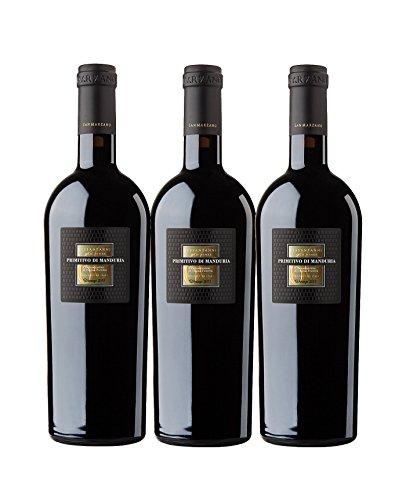 Primitivo di Manduria Sessantanni 2014 Old Vines DOP (3 x 0,75 l) Cantine San Marzano