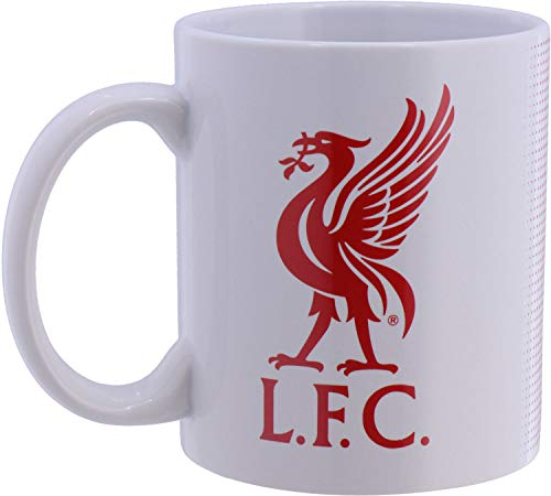 Liverpool Football Club Official Half Tone Mug Crest Badge Team Tea Coffee