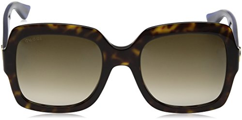 Gucci GG0036S 004 Occhiali da Sole, Marrone