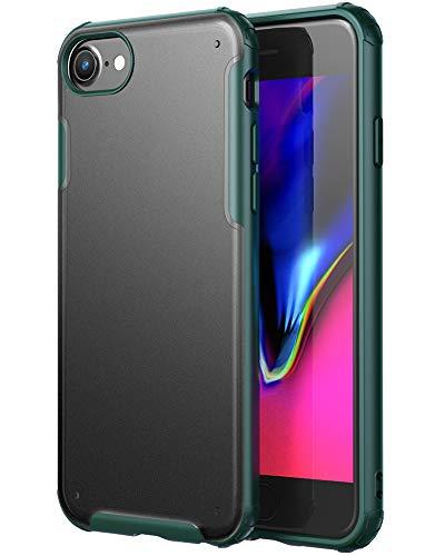 YATWIN Funda Compatible para iPhone SE 2020, Funda iPhone 8 y Funda iPhone 7, Carcasa Serie Anti Caídas, Case Protectora Compatible para iPhone SE 2020 (4.7')/iPhone 7/iPhone 8 - Verde Pino