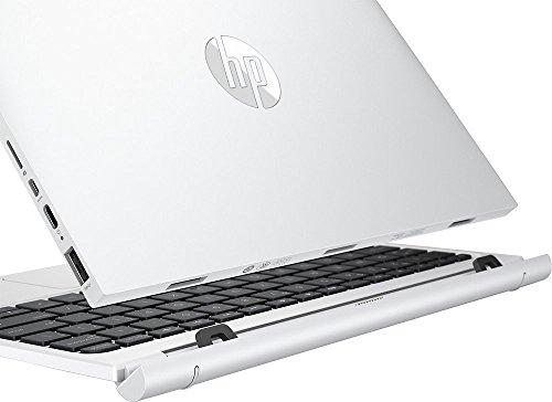 "HP Pavilion x2 Detachable Premium 2-in-1 Laptop Tablet,10.1"" HD IPS Touchscreen Intel Quad-Core Atom x5-Z8350, 32GB eMMC SSD, 2GB RAM, 802.11ac, Wifi, Bluetooth, Windows 10-Silver"