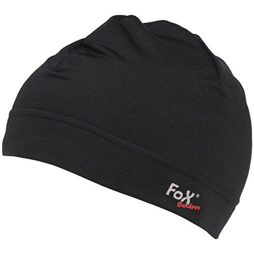 Fox Outdoor Exécuter Cap Noir tallie S/M