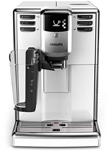 Philips 5000 seria EP5331/10 automatyczny ekspres do kawy, 6 specjalności do kawy (system latteGo), biały