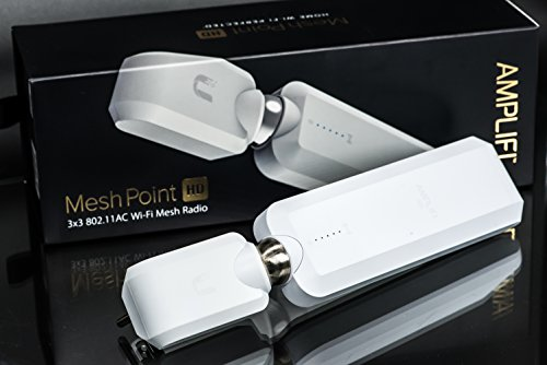 AmpliFi HD WiFi MeshPoint by Ubiquiti Labs, Seamless Whole Home Wireless Internet Coverage, Replace WiFi Range Extenders, Expand Mesh WiFi System, Add to AmpliFi Router or Third Party Routers