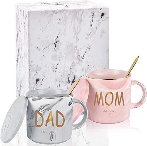 Kaffeetasse aus Marmor mit Aufschrift