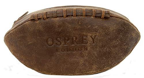 Osprey Kulturbeutel mit Reißverschluss, aus knisternem Kalbsleder