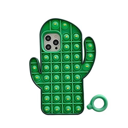 Fidget Toys Custodia per cellulare, Pop-It Fidget Phone Case, Pop Fidget Relive, giocattolo antistress per cellulare, custodia pop Bubble Protecive, custodia protettiva per iPhone 11 Pro Max