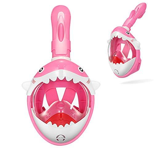 Po-Fishings Full Face HD Anti Niebla Antifugas Natación Snorkel Buceo Máscaras Máscaras de Snorkel Submarino Color 03 S/M