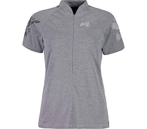 Maloja Short Sleeve All Mountain Shirt Hemd Jersy Multisport Damen M Grau meliert