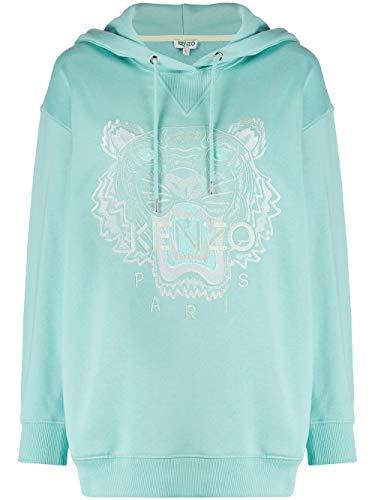 Kenzo Luxury Fashion Damen FA52SW9644XI60 Hellblau Sweatshirt | Frühling Sommer 20