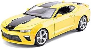 Model Car Model Car Cars Camaro Bumblebee Sports Alloy Ornaments Die Casting Original Collectio Simulation Design 1:18 Gre...