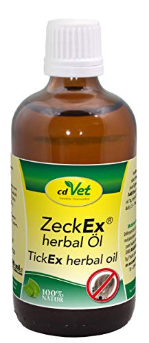 cdVet Naturprodukte ZeckEx herbal Öl 100ml