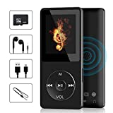 MP3 Music Player, Wodgreat MP3 Player with 32GB TF Card HIFI Sound Multifunctional