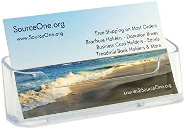 SOURCEONE.ORG Premium Acrylic Ranking TOP6 Holder Business sale Card