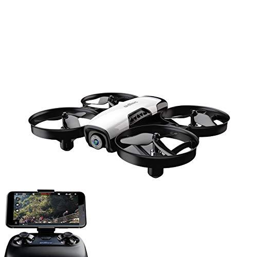 RC TECNIC Mini Drone con Camara Beetle para Niños y Principiantes| FPV, WiFi, Resistente, Control de Altura, (Blanco)