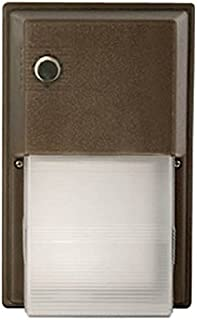 Hubbell 31412 - 17.7 watt 120/277 volt Bronze 12 LED Wall Pack without Photocontrol (NRG-356L-5K-U)