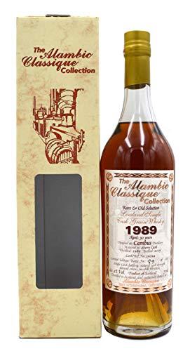 Rarität: Cambus Whisky Jahrgang 1989-30 Jahre alt 0,7l Alambic Classique