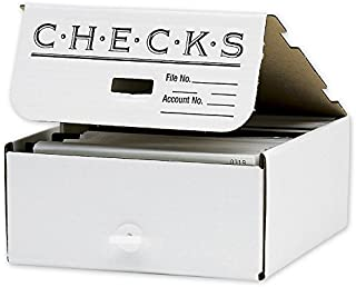 ABC Check Storage Box, Divided by Quarter, 10 x10 x 4 1/2