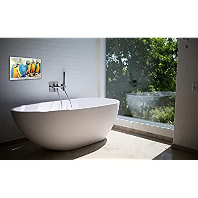 Buy Soulaca Velasting 22 Inches Bluetooth Smart Led Tv For Bathroom Magic Mirror Television Spa Android 7 1 22 Inch Mirror Online In Germany B0936sq44p