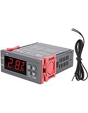 Temperatuurregelaar, STC ‑ 1000 digitale thermostaat, LCD-scherm Koelen/verwarmen Klein volume voor leesbaarheid Watertanks