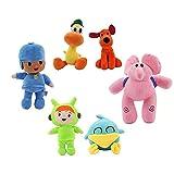 Pocoyo Toys Soft and Cute Anime Dolls Toddler Stuffed Plush Toys Birthday Present (6.3-19 inch)