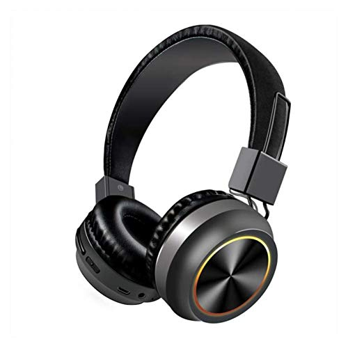 WYYHYPY Auriculares Bluetooth Auriculares Auriculares Auriculares inalámbricos Estéreo Plegable Deporte Auriculares Auriculares Auriculares MP3 Player Auriculares Bluetooth