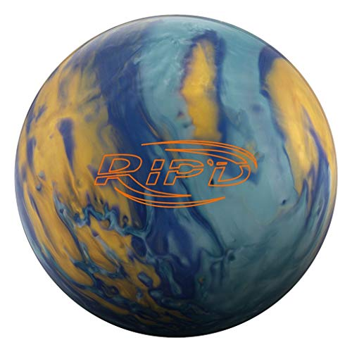 Hammer RIP'D Pearl Bowling Ball Blue/Gold/Light Blue, 14