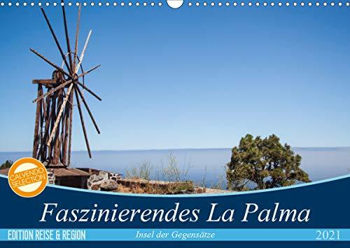 Faszinierendes La Palma (Wandkalender 2021 DIN A3 quer)