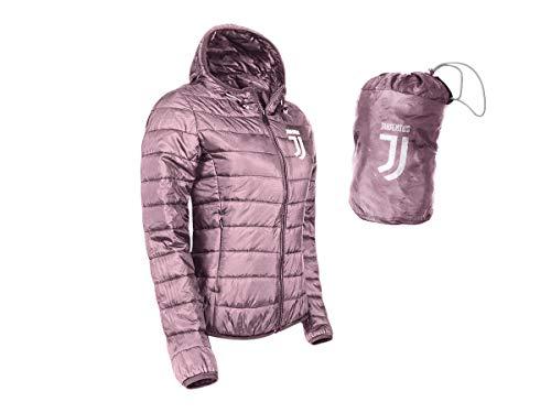 JUVE Chaqueta de plumón Ligero Juventus Producto Oficial de niña Chica (Rosa)