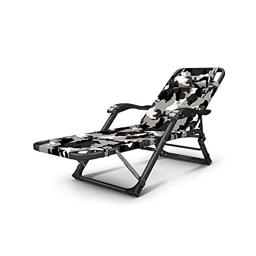 SBDLXY Folding Reclining Chair Folding Recliner Zero Gravity with Massage Armrests Lazy Chair for Outdoor Travel Beach Deck Reclining Chair Indoor Nap Loung