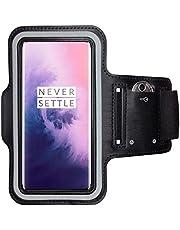 CoverKingz Sportarmband voor OnePlus 7 Pro - armtas met sleutelvak OnePlus 7 Pro - sport looparmband mobiele telefoon armband zwart