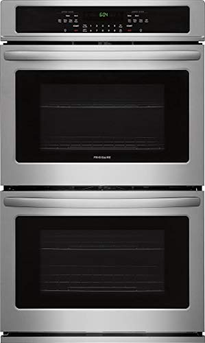 Frigidaire FFET3026TS 30 Inch 9.2 cu. ft. Total Capacity Electric Double Wall Oven with 4 Oven Racks, in Stainless Steel