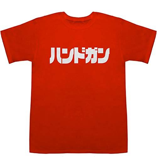 Handgun ハンドガン POP T-shirts レッド S【エアガン】【エアガン 電動】