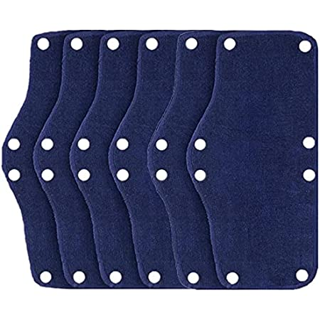 6x Snap-On Type Soft Work Place Helmet Sweat Band Summer Replacment Hard Hat US