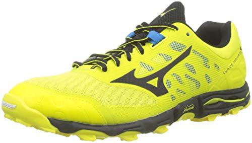 Mizuno Wave Hayate 5, Zapatillas de Running para Asfalto Hombre, Amarillo, 46 EU