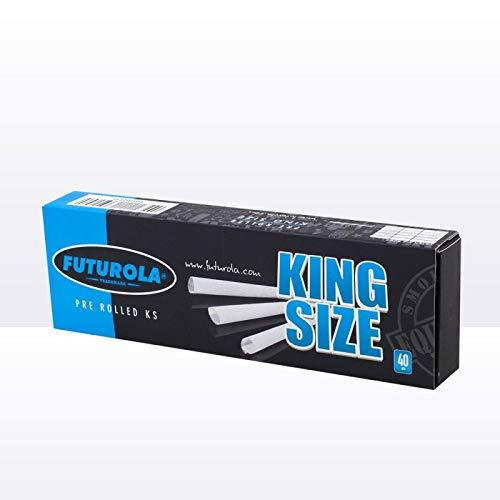 Futurola 40 Coni prerollati misura King (109 mm)