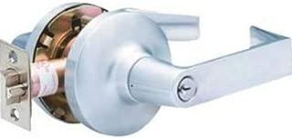 Door Lever Lockset, Angled, Entry, Grade 1
